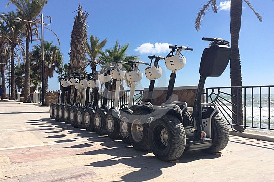 the Marbella Segway rental