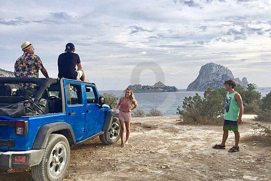 Sea View on Jeep Safari Ibiza