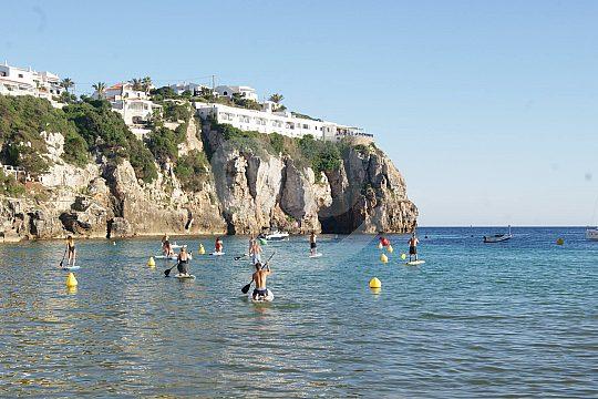 SUP watersports in Menorca