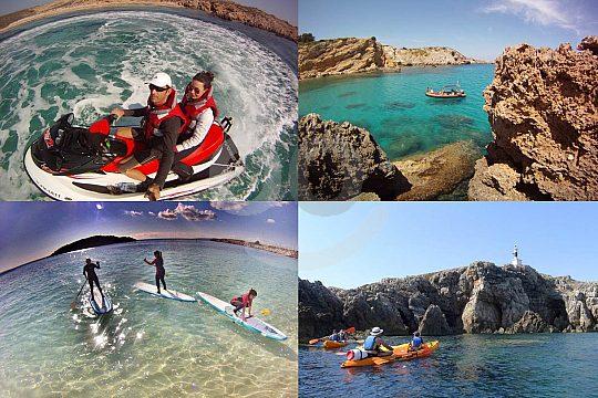 Watersports Menorca save package