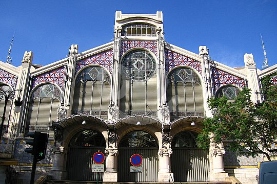 Mercat Central on a walking tour in Valencia