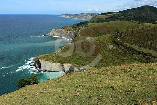 Coastal view Costa Vasca