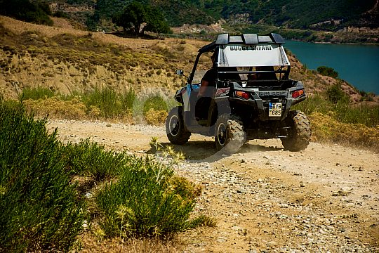 explore Crete with a buggy