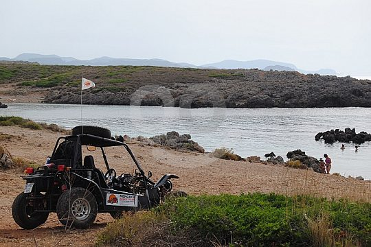 discover the north coast of Minorca during a buggy tour