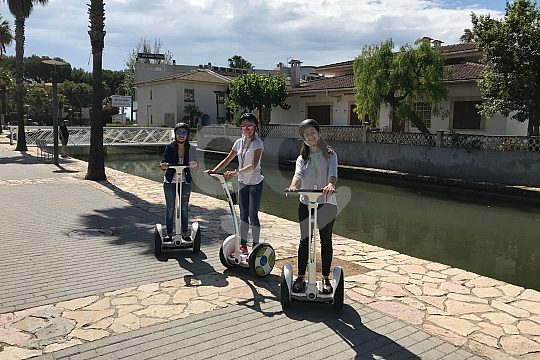 Segway excursion to the lake of Alcudia