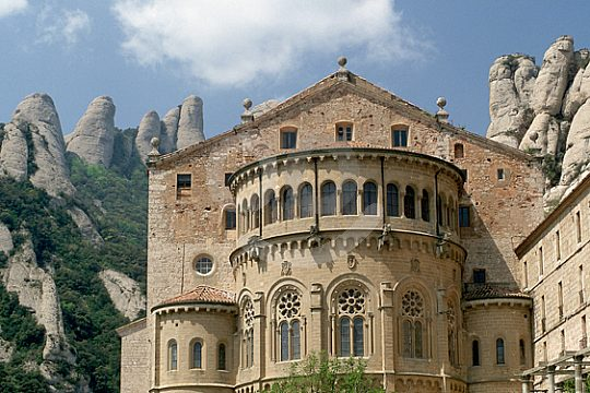 from Barcelona to Montserrat