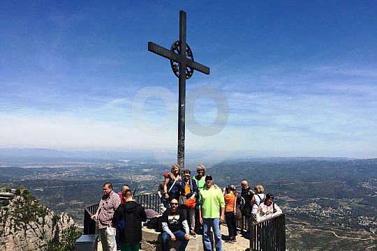 Montserrat summit cross