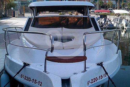 hire motor boat MIRA RIA 800 SPORT in Santa Pola