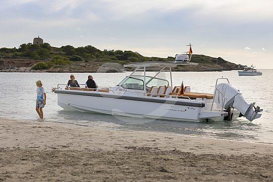 Beach Mallorca boat rent