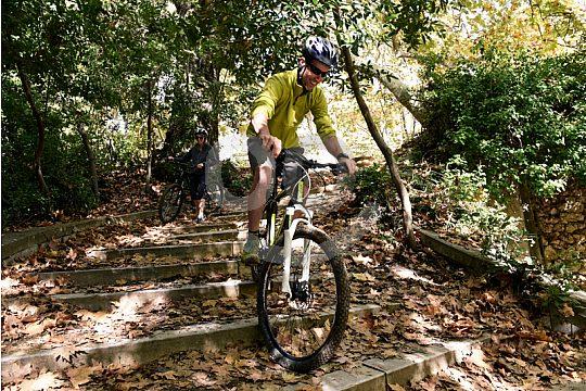 mountain biking from Athens