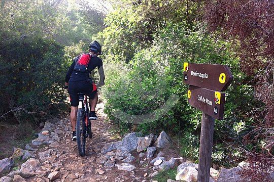 Mountainbiking in Dénia