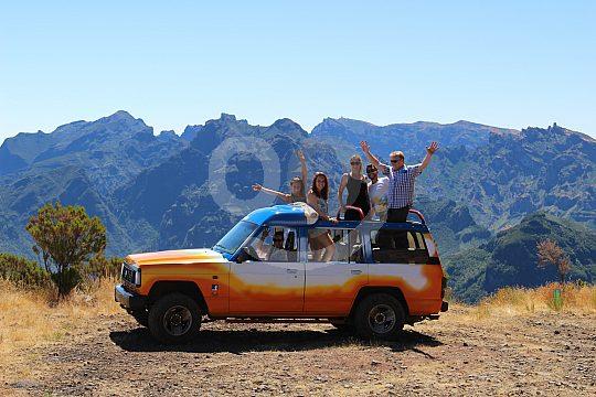Madeira jeep tour to the mountains