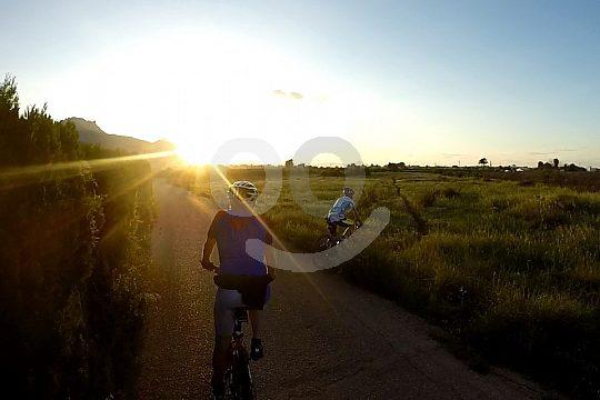 mountain biking on the Costa Blanca