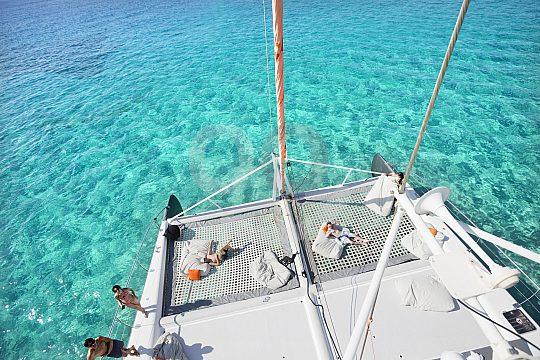 Cala Blava Catamaran Tour from Palma