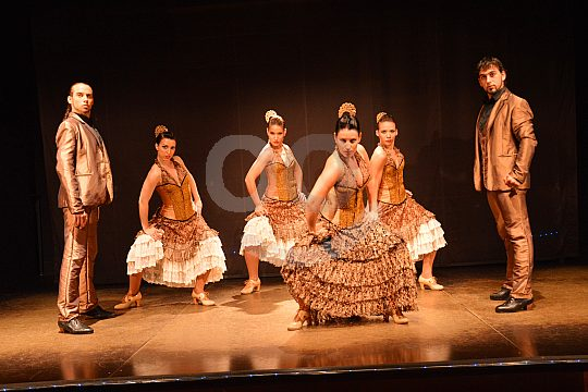 dancers on the stage
