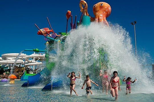 Aqualava water park Playa Blanca
