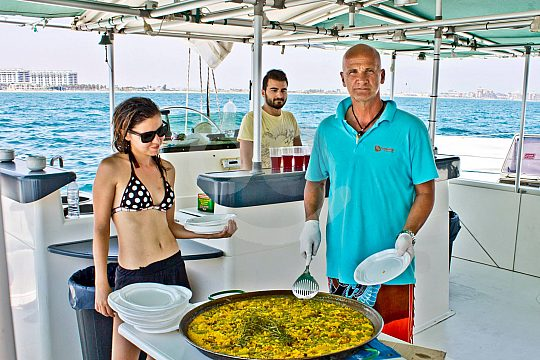 Valencia Paella catamaran