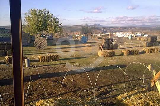 Andalusia paintball field