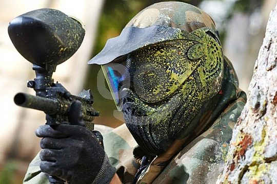 Paintball equipment included in Galicia
