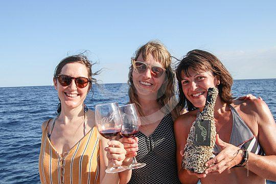 Segelbootausflug mit Weinverkostung