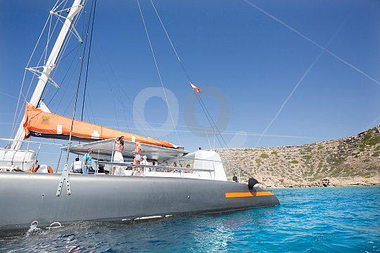 Cala Blava catamaran tour in Mallorca