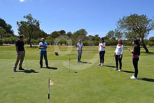 golf lesson on Mallorca