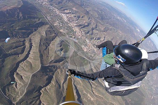 Paragliding in der Sierra Nevada ab Granada