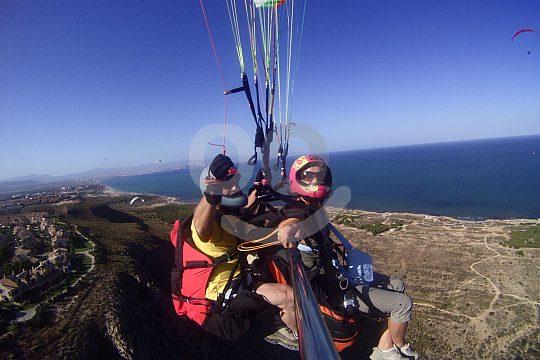 paragliding at Costa Calida