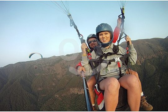 Ober the Ifonche in Tenerife Tandem Paragliding