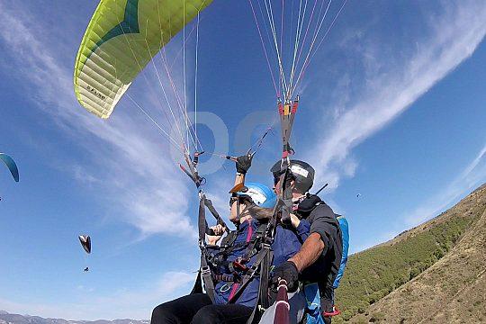 Paragliding in Spanien