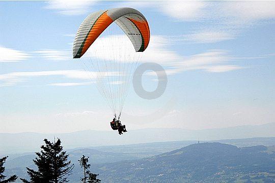 Paragliding over the Costa Calida