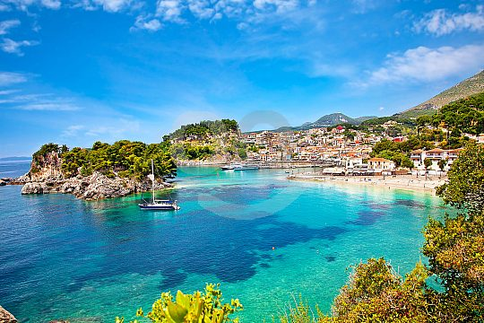 Syvota Islands and Parga in Greece