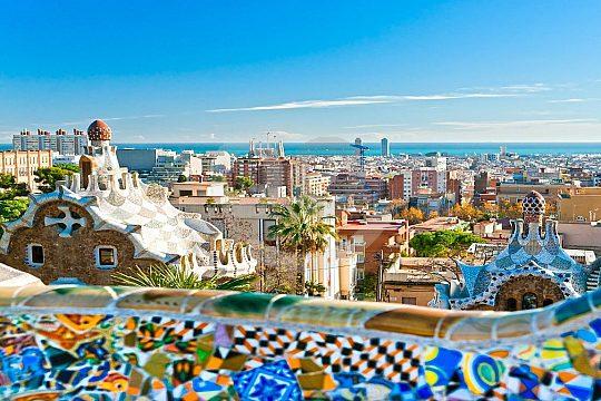 architecture of Gaudi in Barcelona