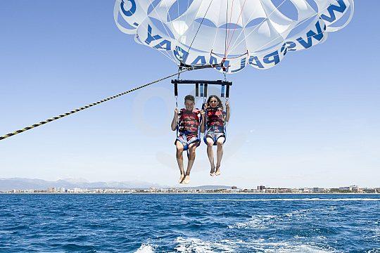 Parasailing on Mallorca