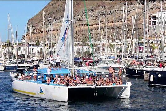 Gran Canaria catamaran trip
