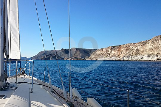 sailing in Aguilas