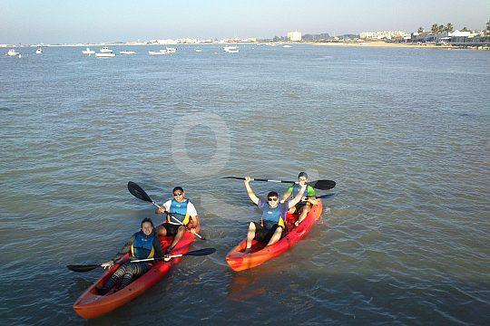 Kayak Tour from Sanlucar de Barrameda