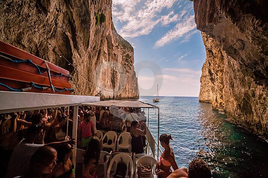 blue caves paxos antipaxos greece