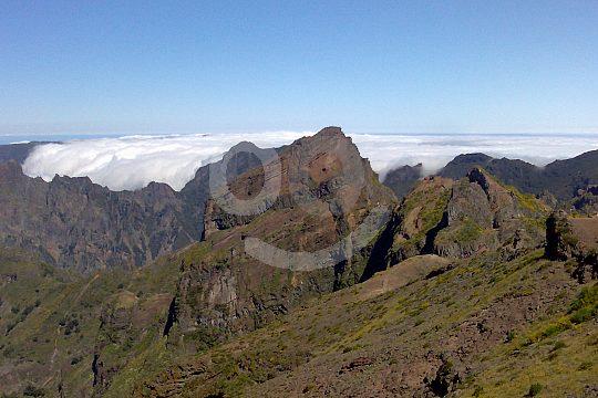 Peaks in East Madeira