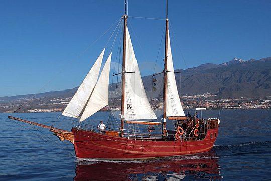 Sailing boat in Tenerife