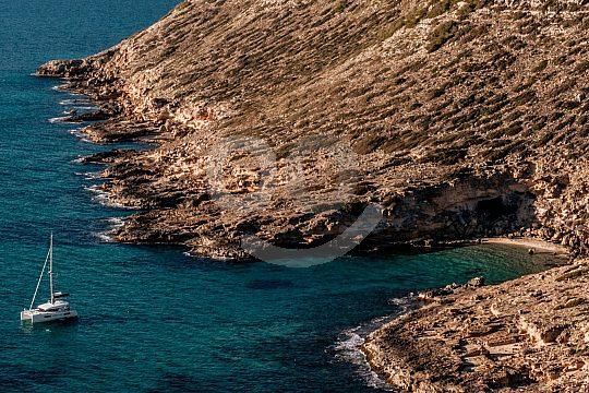 Mallorca coast sailing with skipper