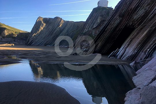 Playa Zumaya in the Basque Country