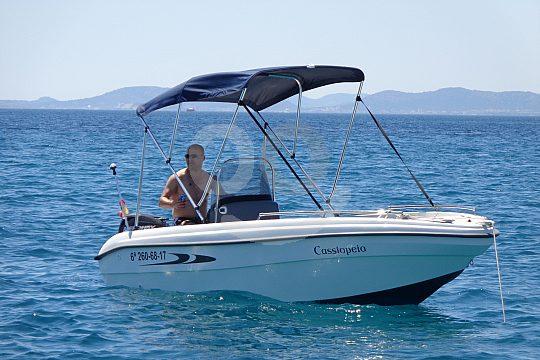führerscheinfreies Boot Mallorca Osten