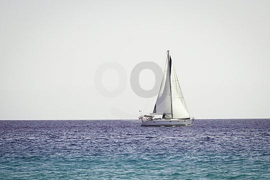 Sailing from Morro Jable