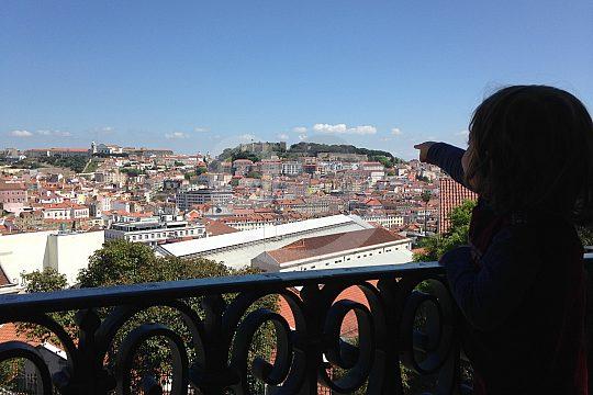 Lisbon walking tour for kids