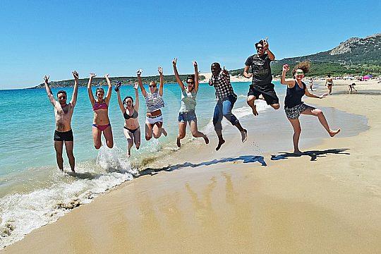 beach of Bolonia on private tour from Cádiz