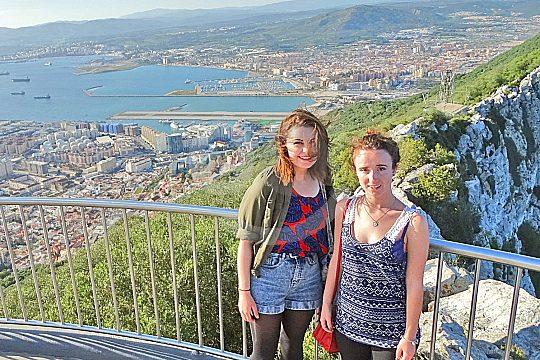 enjoy the view on a private tour to Gibraltar from Cádiz