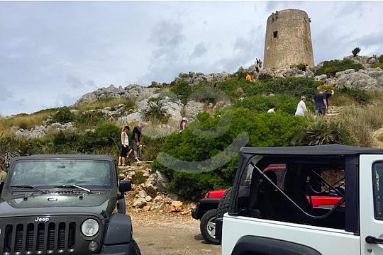 visit an old watchtower on Majorca