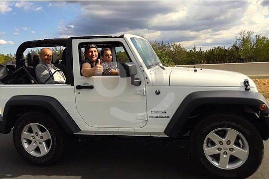 private tour with the jeep on Mallorca