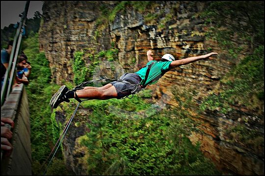 Bungee Jumping in the Basque Country